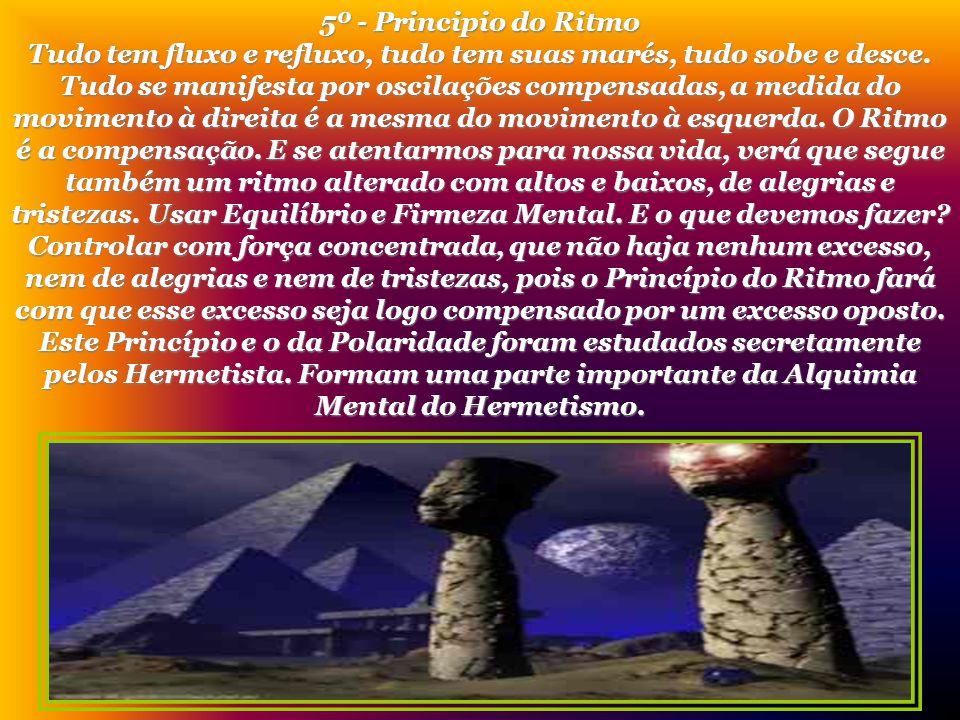 5º - Principio do Ritmo