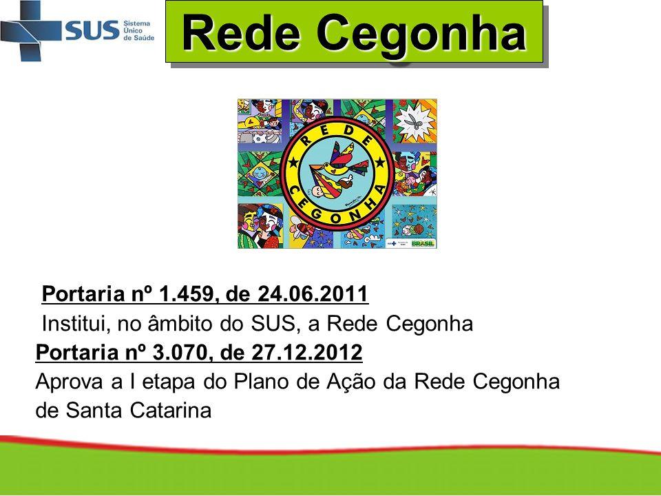 Rede Cegonha Portaria nº 1.459, de 24.06.2011