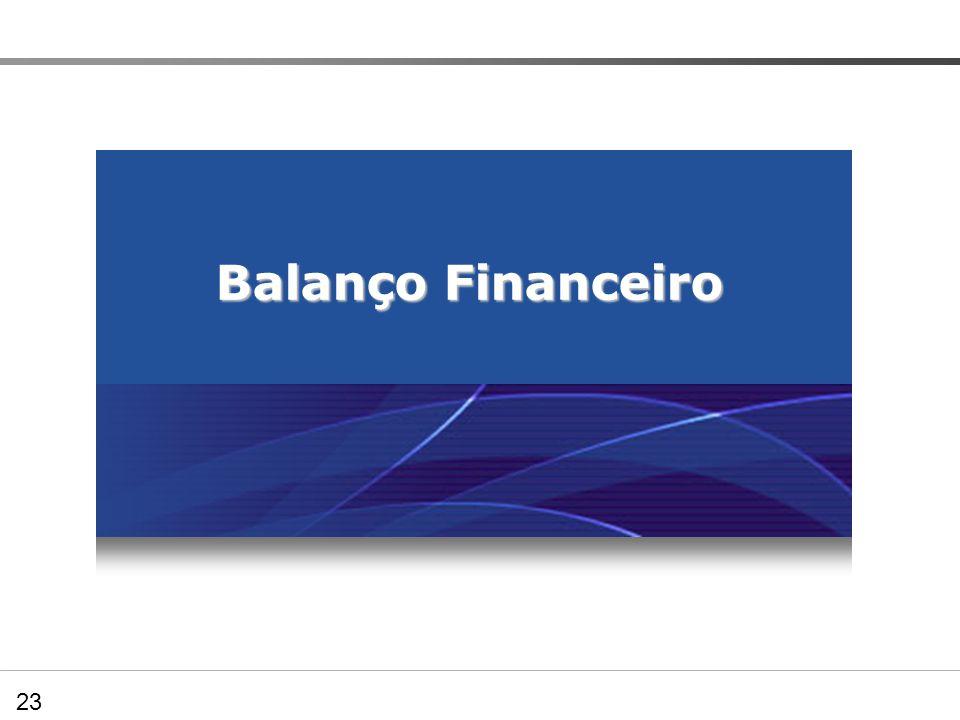 05.03.00 – Balanço Financeiro Balanço Financeiro