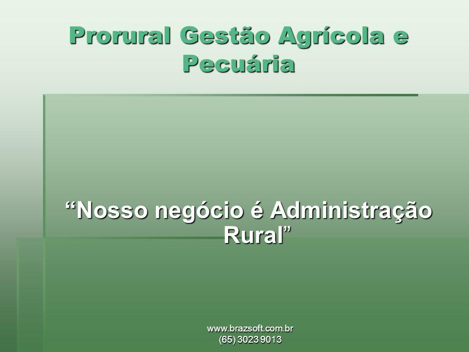 Prorural Gestão Agrícola e Pecuária