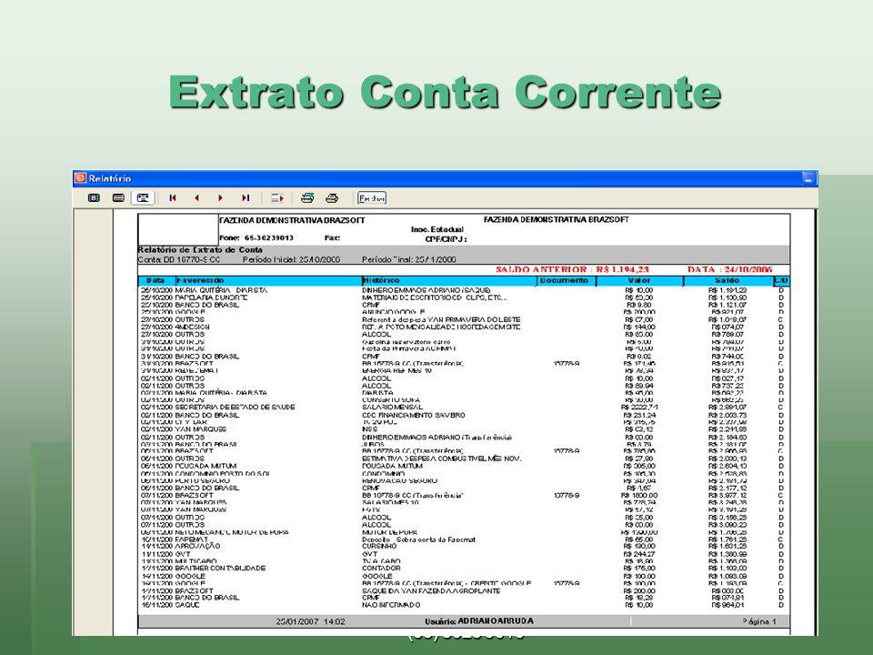 Extrato Conta Corrente