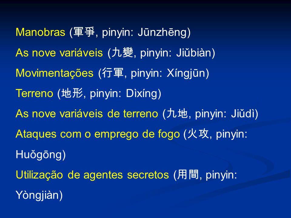 Manobras (軍爭, pinyin: Jūnzhēng)