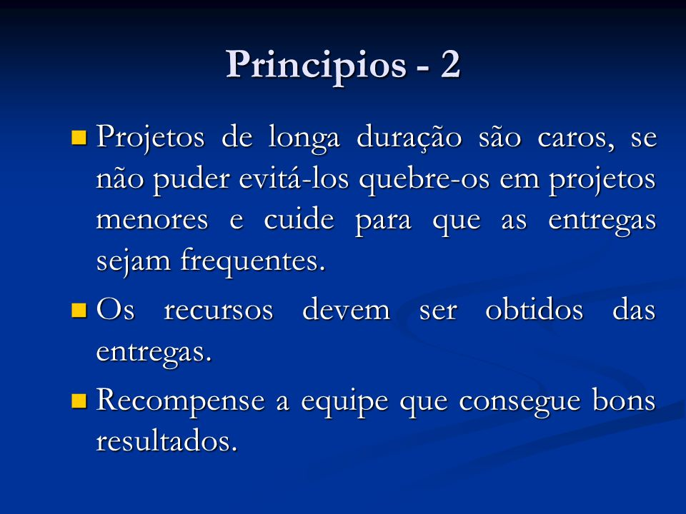 Principios - 2
