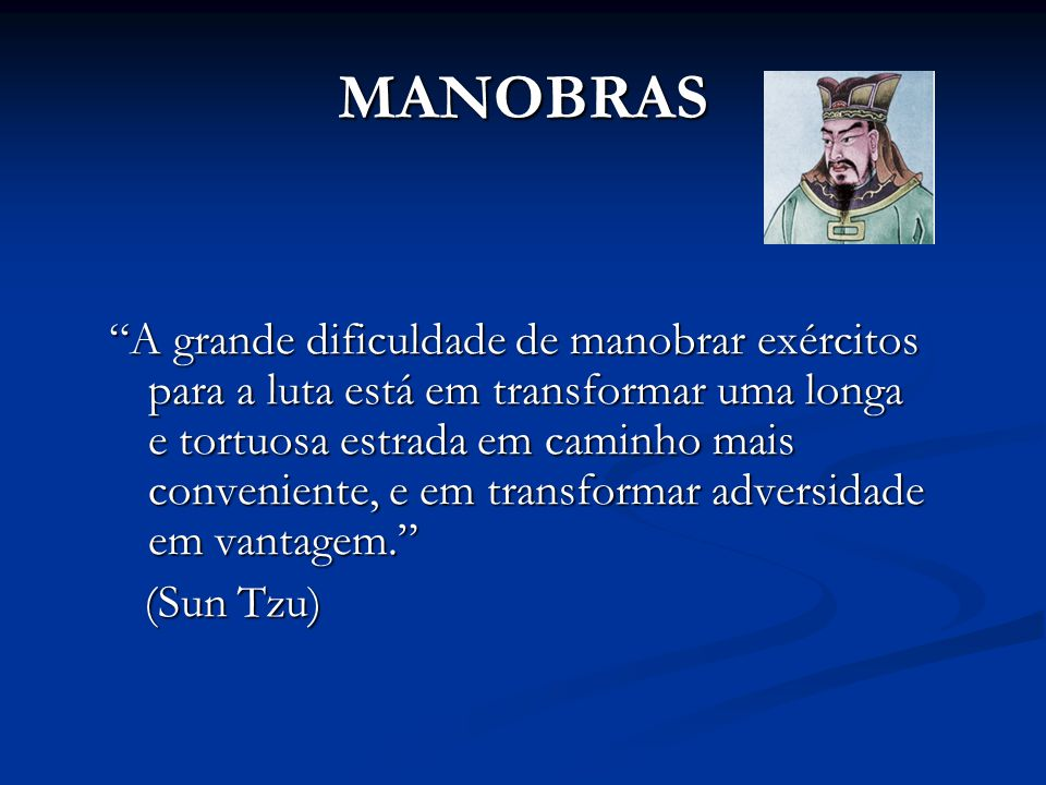 MANOBRAS
