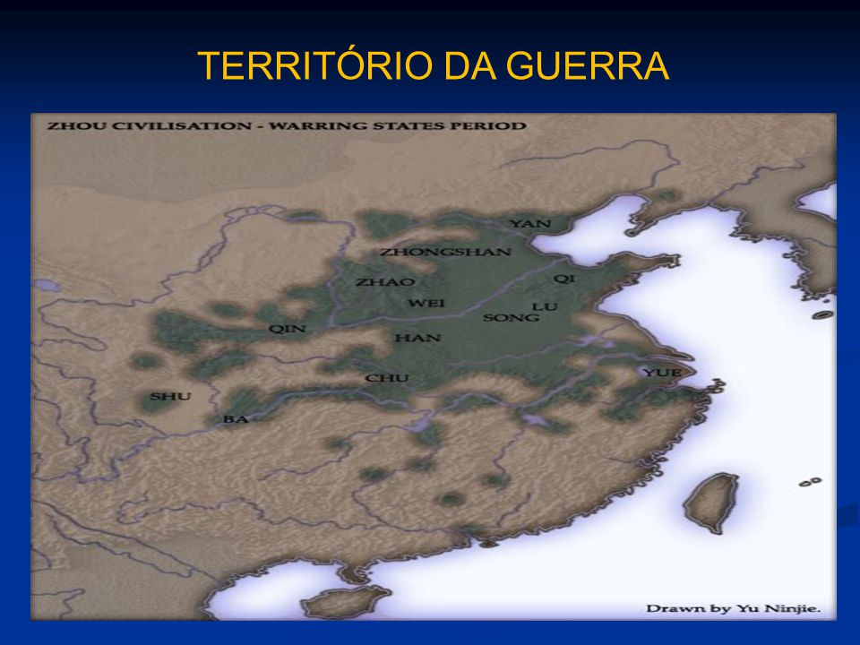 TERRITÓRIO DA GUERRA