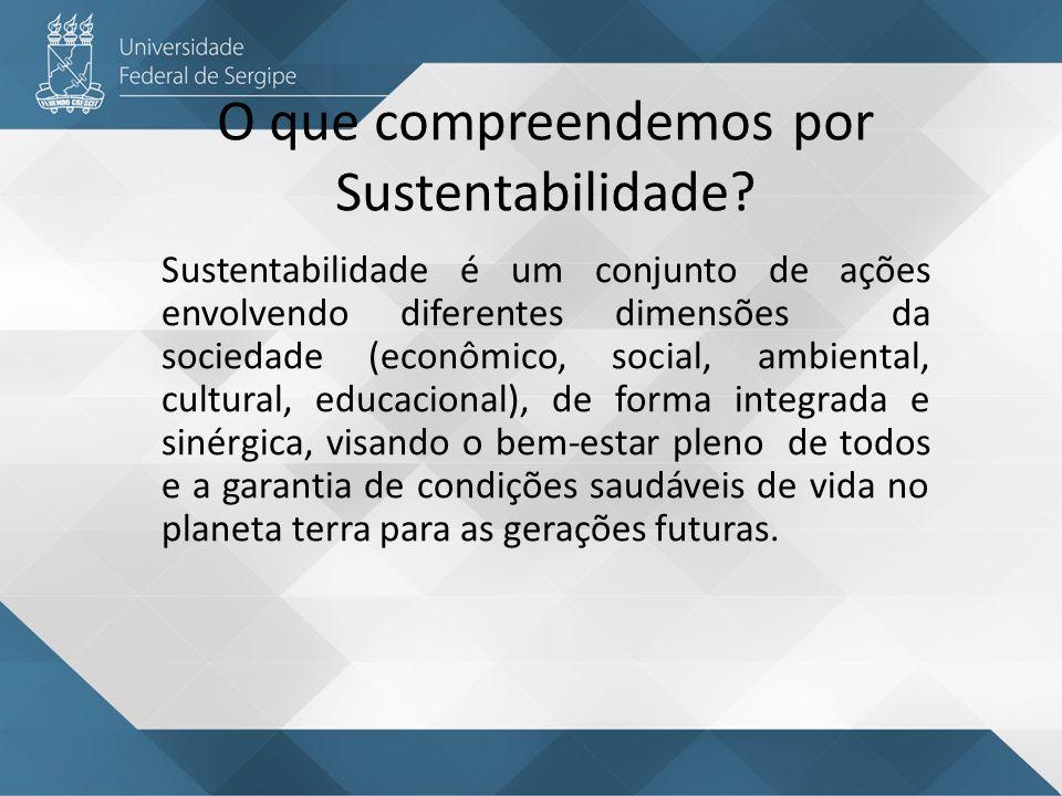 O que compreendemos por Sustentabilidade