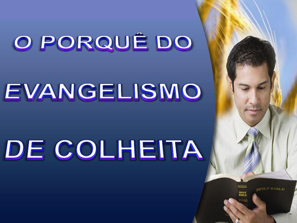 O PORQUÊ DO EVANGELISMO DE COLHEITA