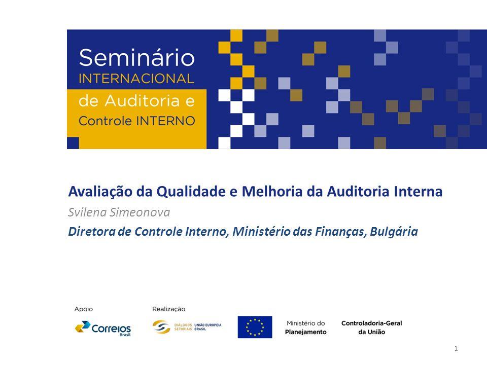 Avaliação da Qualidade e Melhoria da Auditoria Interna