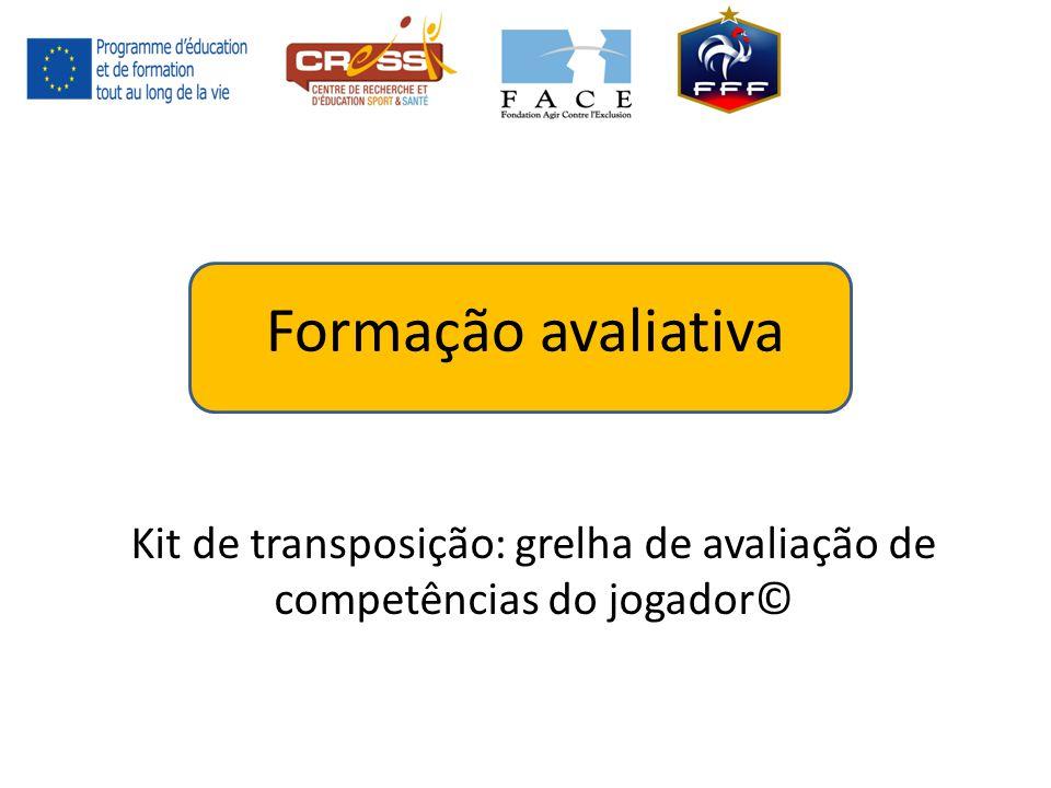 Kit de transposição: grelha de avaliação de competências do jogador©