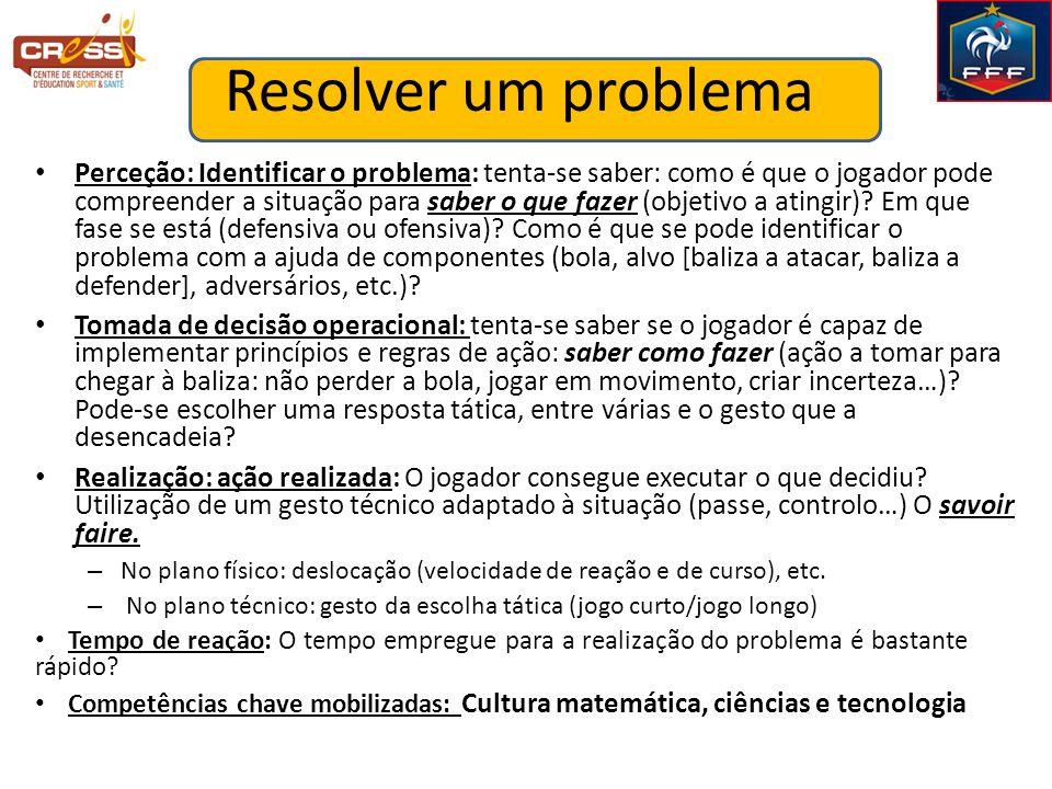 Resolver um problema