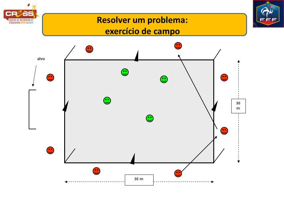Resolver um problema: exercício de campo