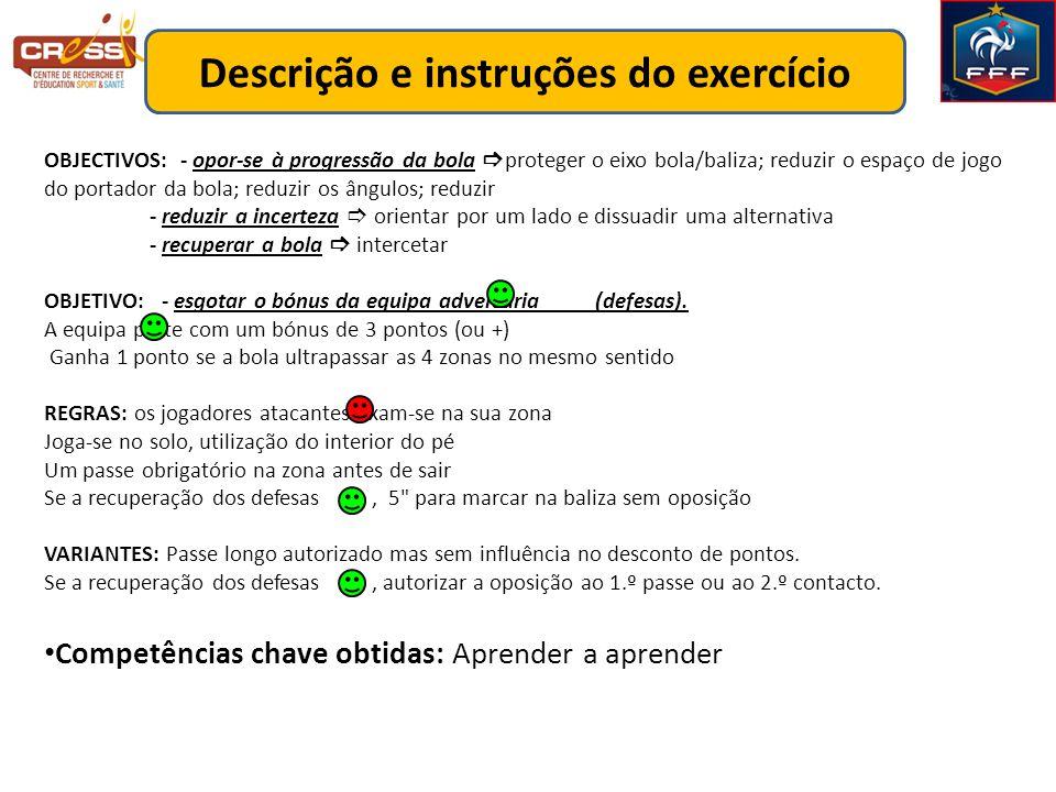 Descrição e instruções do exercício