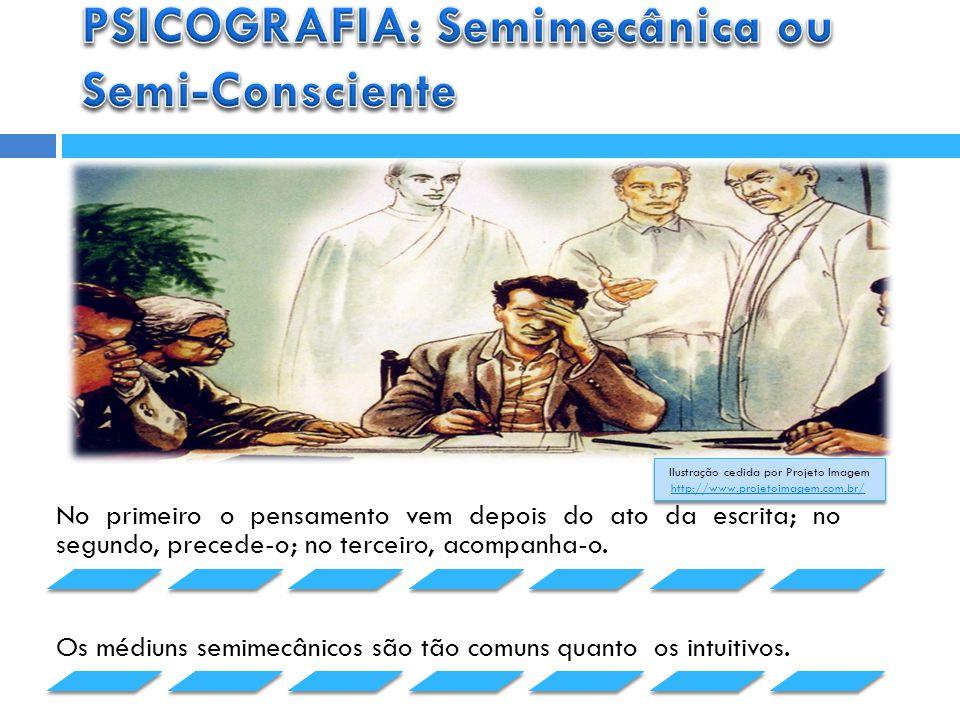 PSICOGRAFIA: Semimecânica ou Semi-Consciente