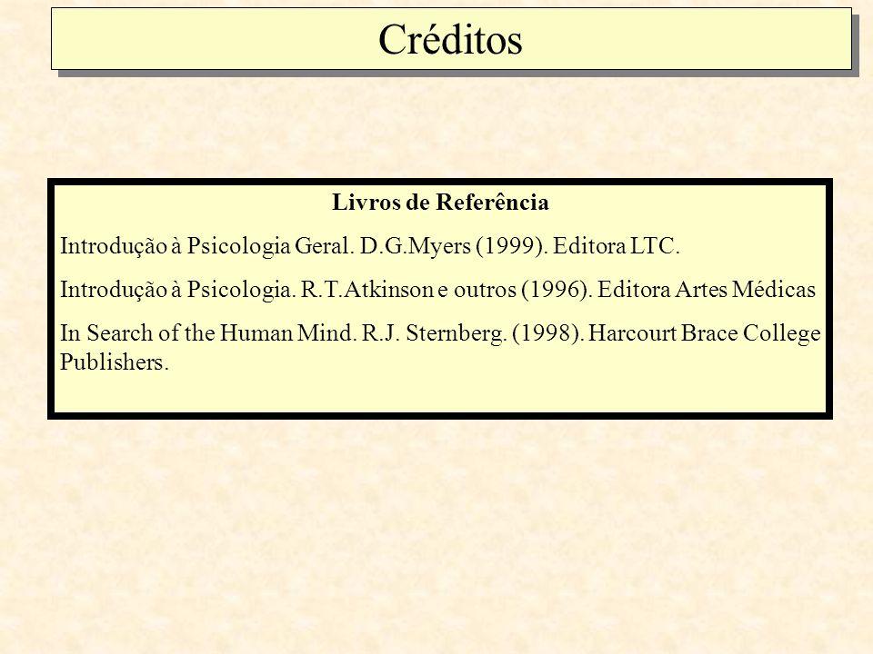 Créditos Livros de Referência