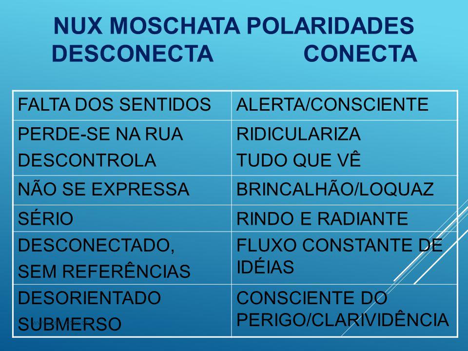 NUX MOSCHATA POLARIDADES DESCONECTA CONECTA
