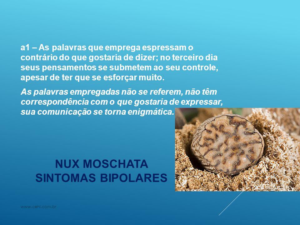 NUX MOSCHATA SINTOMAS BIPOLARES
