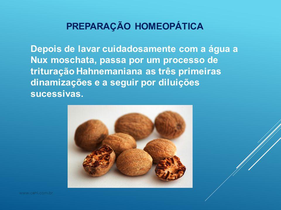 PREPARAÇÃO HOMEOPÁTICA