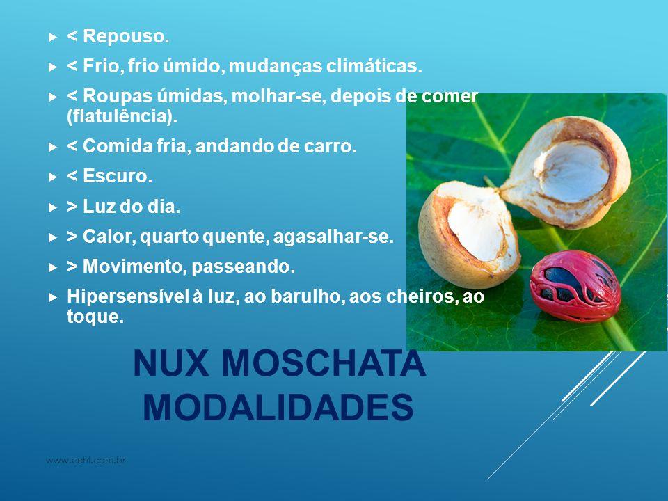 NUX MOSCHATA MODALIDADES
