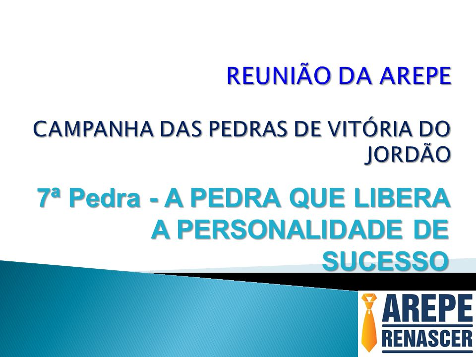 REUNIÃO DA AREPE CAMPANHA DAS PEDRAS DE VITÓRIA DO JORDÃO