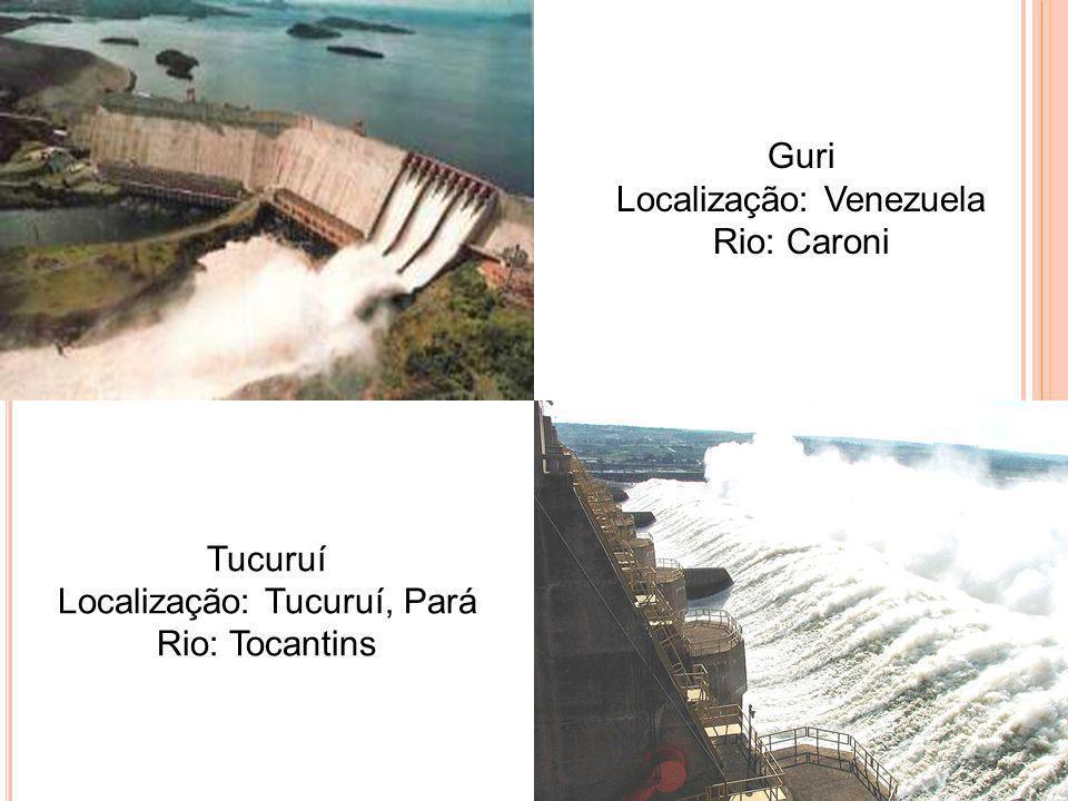 Localização: Venezuela Rio: Caroni