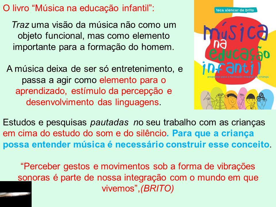 O livro Música na educação infantil :