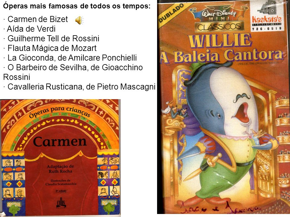 Óperas mais famosas de todos os tempos: