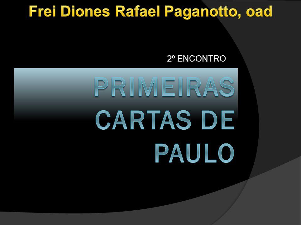 PRIMEIRAS CARTAS DE PAULO