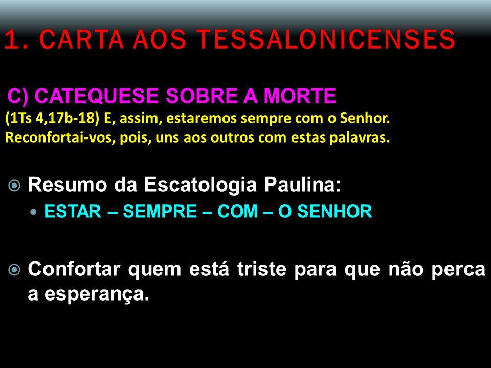 1. CARTA AOS TESSALONICENSES