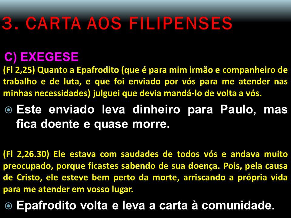 3. CARTA AOS FILIPENSES C) EXEGESE
