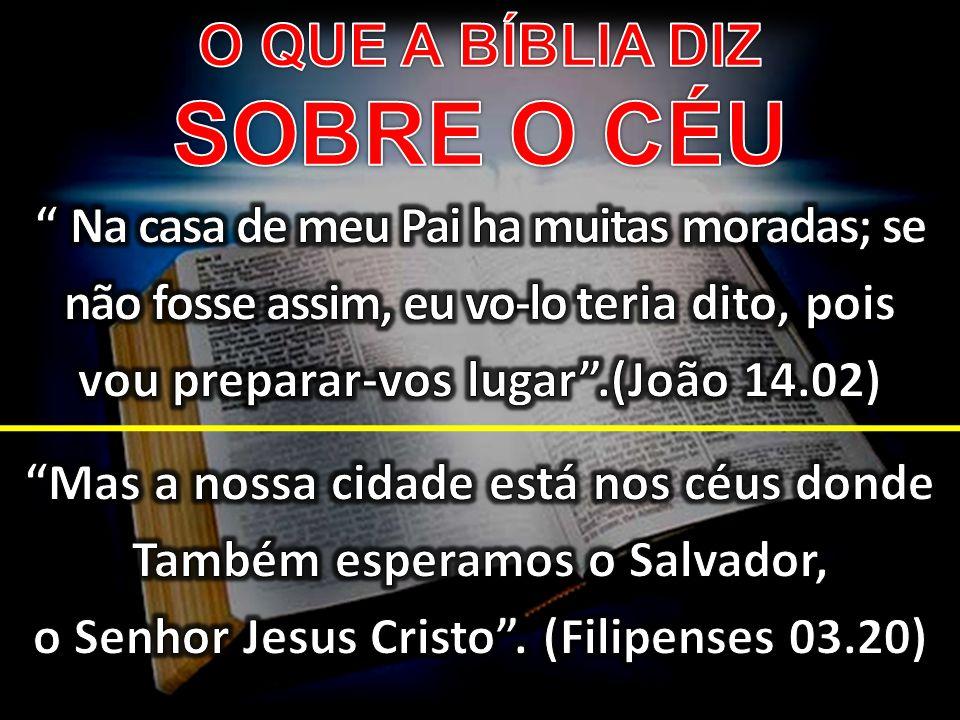 O QUE A BÍBLIA DIZ SOBRE O CÉU