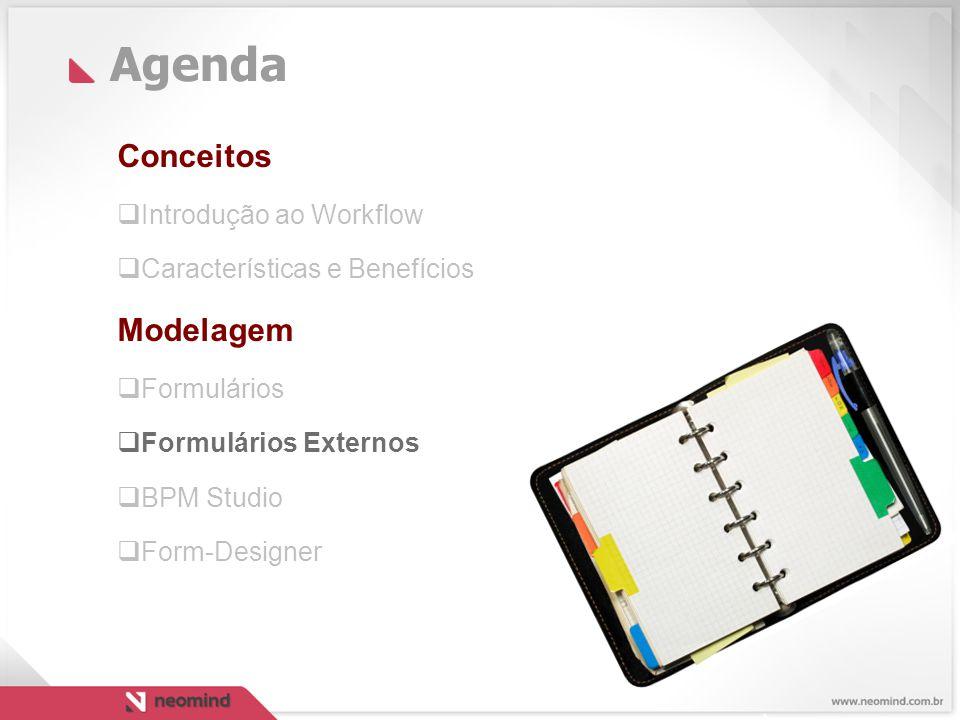 Agenda Conceitos Modelagem Introdução ao Workflow