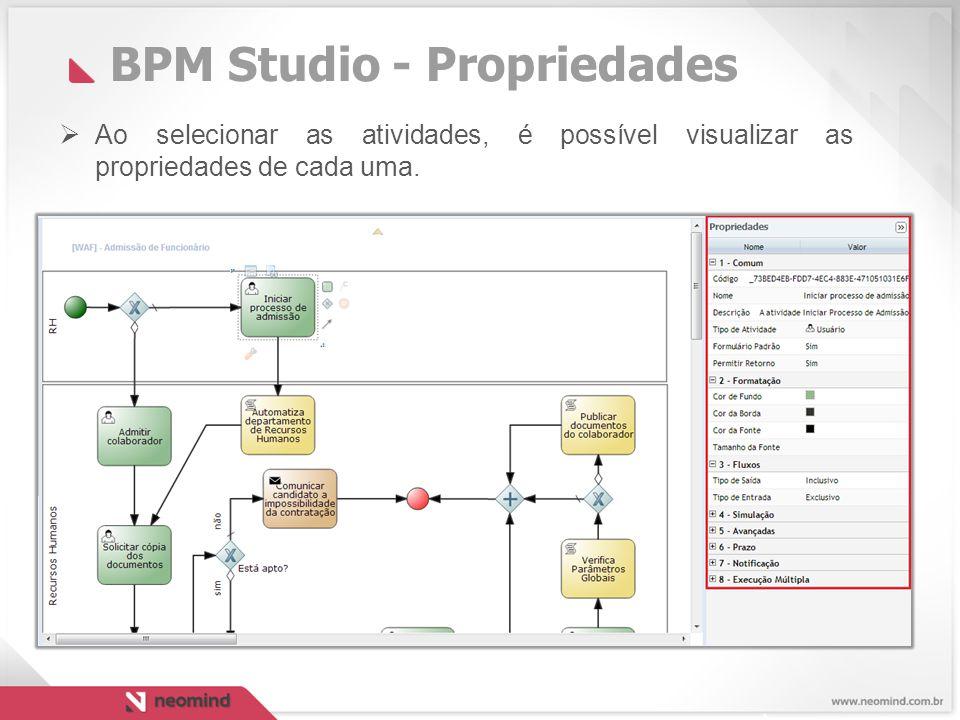 BPM Studio - Propriedades