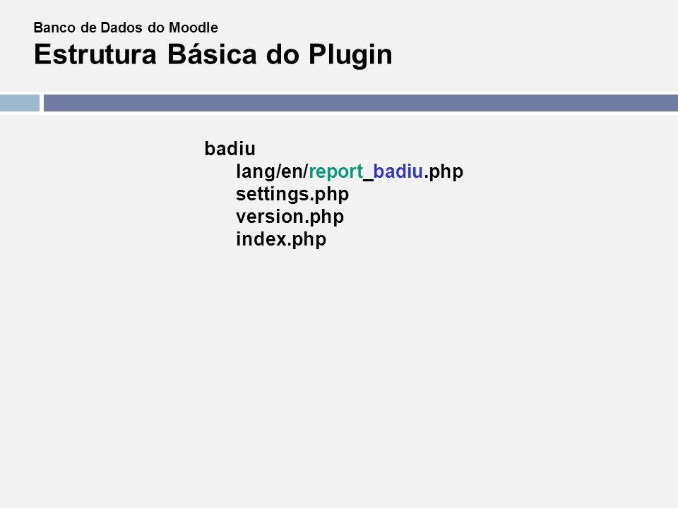 badiu lang/en/report_badiu.php settings.php version.php index.php