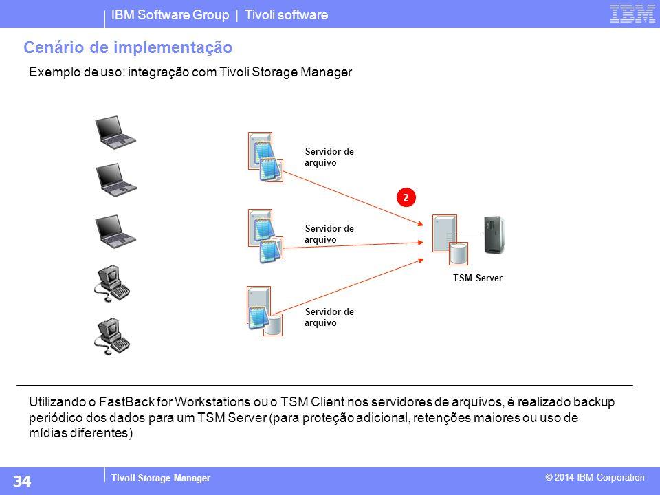 Cenário de implementação