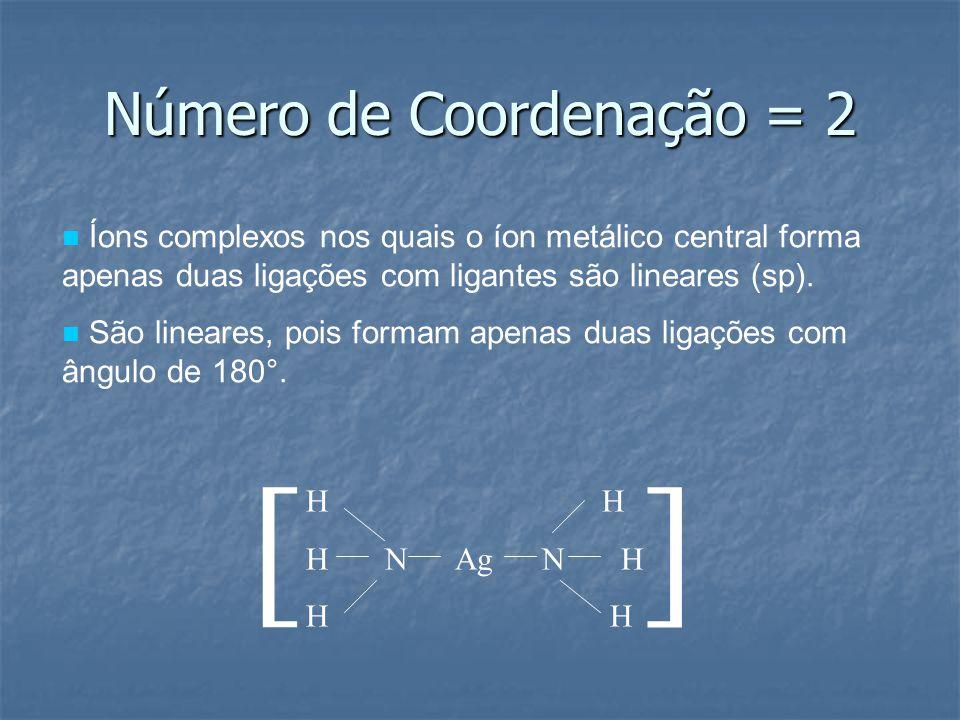 Número de Coordenação = 2