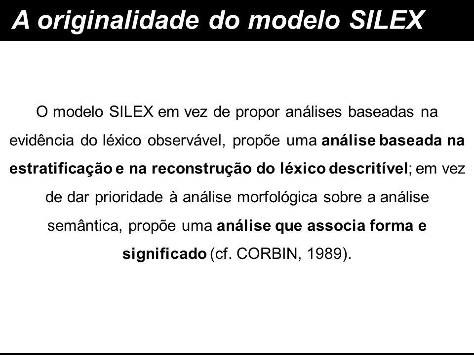 A originalidade do modelo SILEX