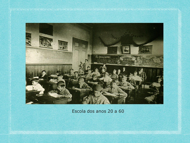 Escola dos anos 20 a 60