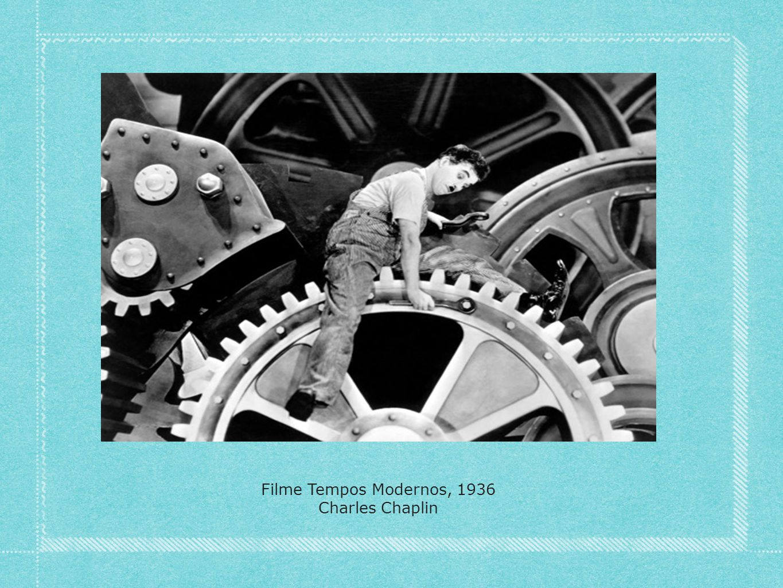 Filme Tempos Modernos, 1936 Charles Chaplin