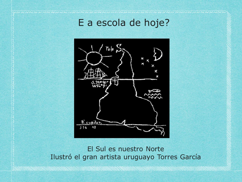 Ilustró el gran artista uruguayo Torres García