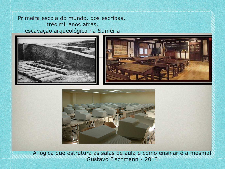 Primeira escola do mundo, dos escribas, três mil anos atrás,