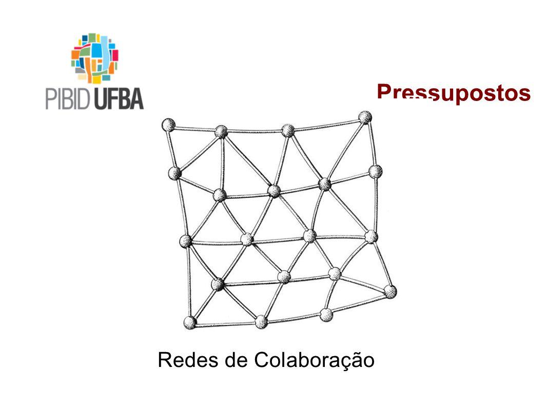 Pressupostos Redes de Colaboração