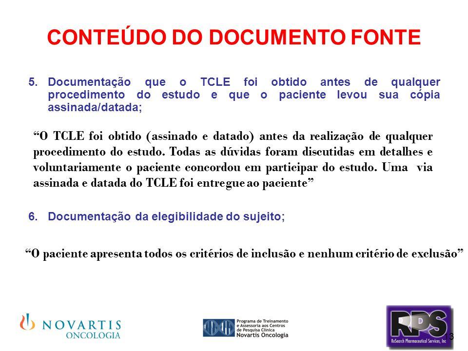 CONTEÚDO DO DOCUMENTO FONTE