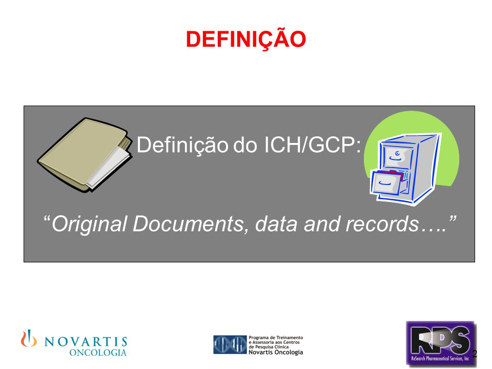 Original Documents, data and records….