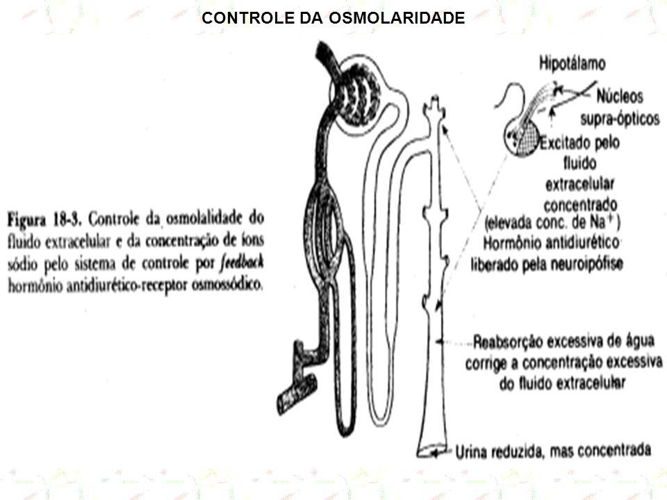 CONTROLE DA OSMOLARIDADE