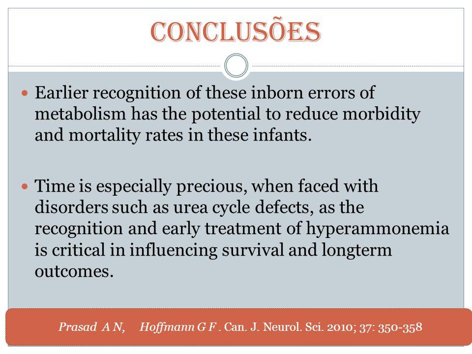 Prasad A N, Hoffmann G F . Can. J. Neurol. Sci. 2010; 37: 350-358