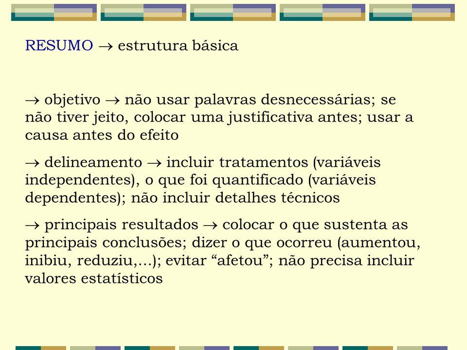 RESUMO  estrutura básica