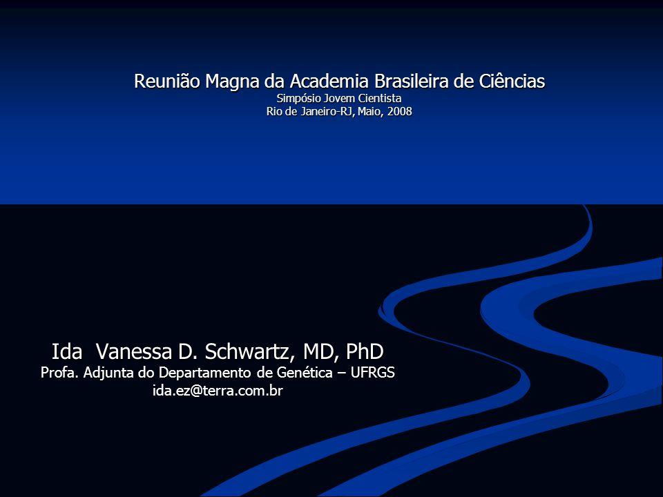 Ida Vanessa D. Schwartz, MD, PhD