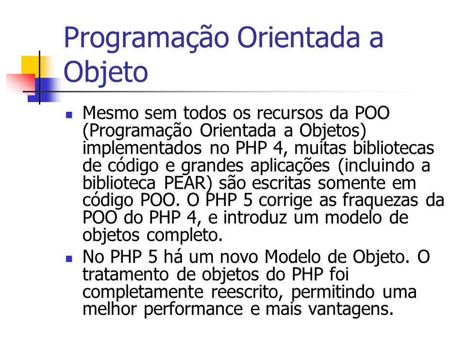 Programação Orientada a Objeto