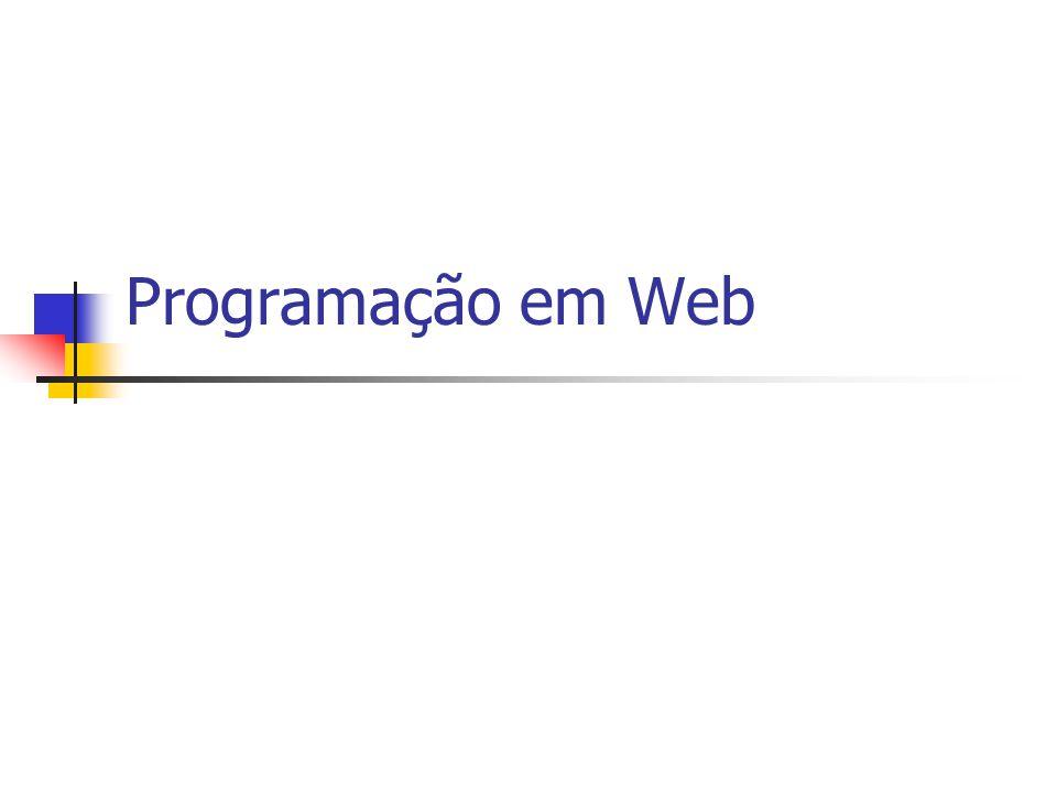 Programação em Web