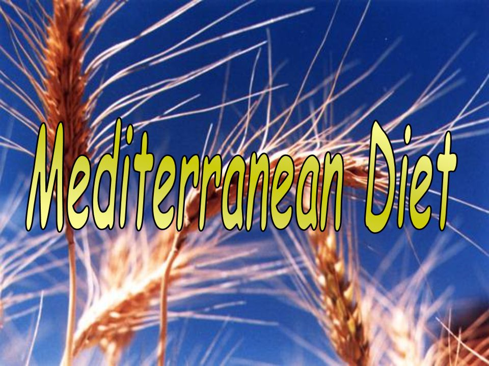 THE MEDITERRANEAN DIET - PowerPoint PPT Presentation